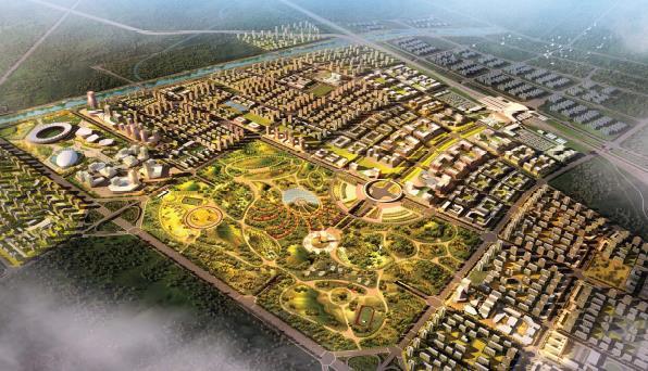 张家口经济开发区高铁新城(未来之城)产业发展规划2017