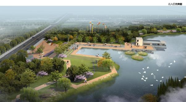 嘉兴秀湖生态公园景观提升设计2016