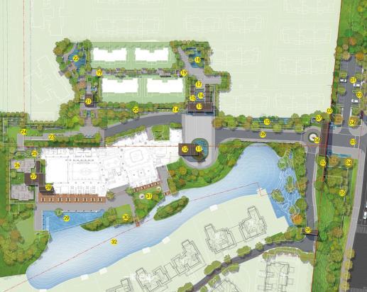 融创麓湖项目示范区景观方案设计2017——奥雅