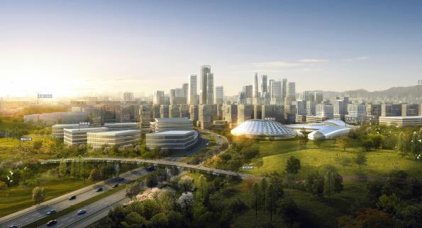 四川天府新区成都科学城总体城市设计方案2017——广东省规划院