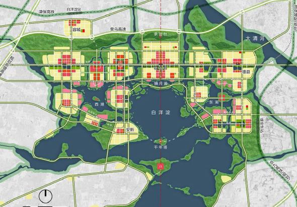 河北雄安新区启动区城市设计