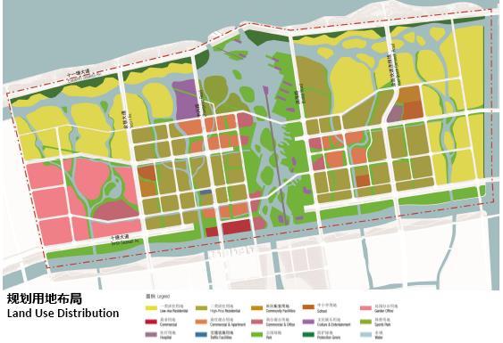 杭州湾新城北部地块板块分区规划和城市设计——hasell