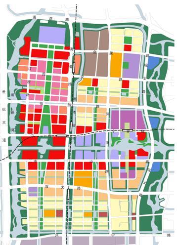 宁波市东部新城核心区城市设计导则——EDAW-城市设计信息网