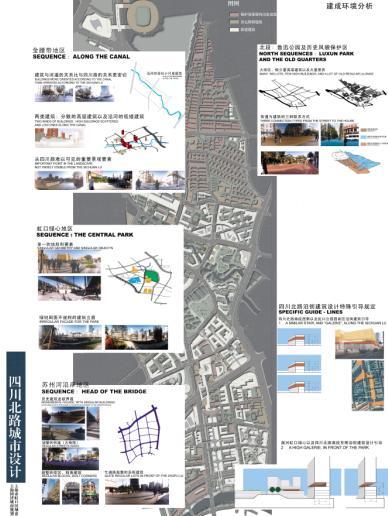上海四川北路城市设计——同济;; 城市规划设计; 上海四川北路城市