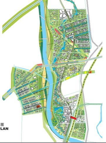荷兰特色手绘地图