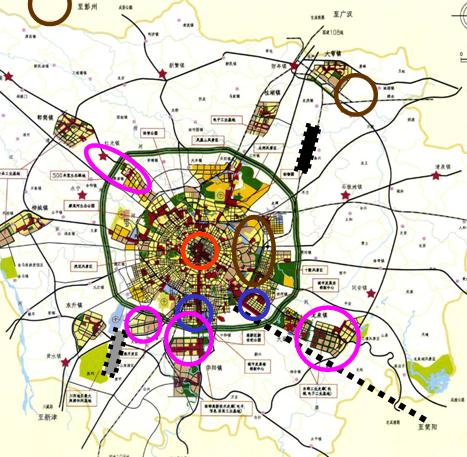 成都市城市总体规划