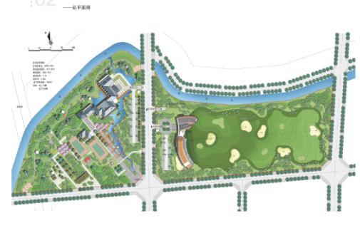 成都摸底河南岸城市绿地公园设计