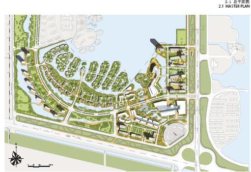 芜湖卫南洼概念性总体规划设计som-城市设计信息网;建筑设计华润天津图片