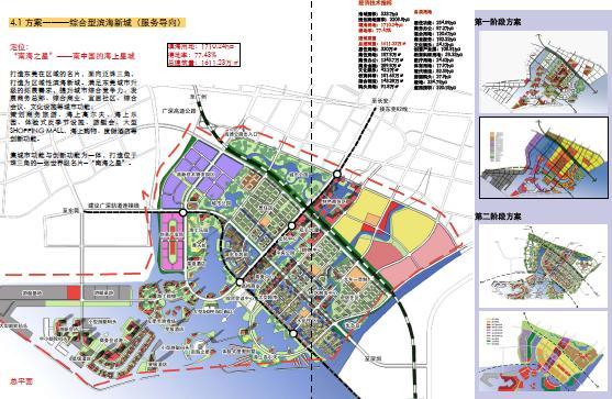 东莞市长安新区概念性总体规划2008——华南理工图片