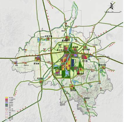 诸城地图高清版全图