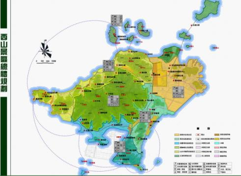 苏州西山岛地图