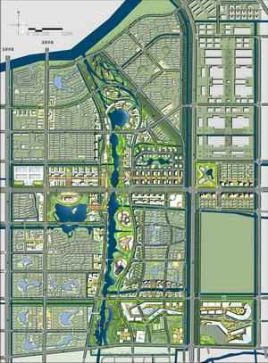 昆山经济技术开发区东部新城核心区规划设计——同济-城市设计信息网