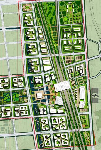分期开发,城市设计导引,站房建筑概念设计);交通设计专题,国内外高铁