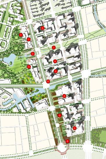 上海市真如副中心城市设计国际竞赛图片