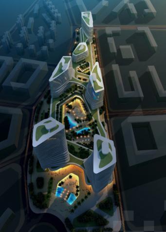 福田科技创意产业园建筑规划设计投标方案2008——华南院