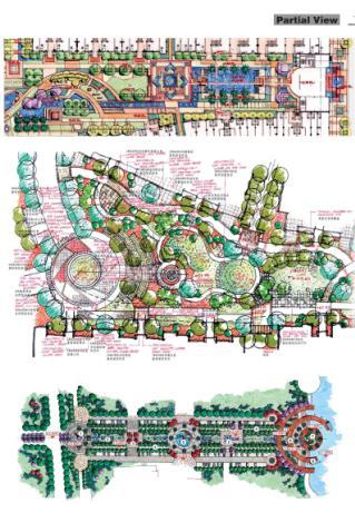景观细部设计手册手绘图集