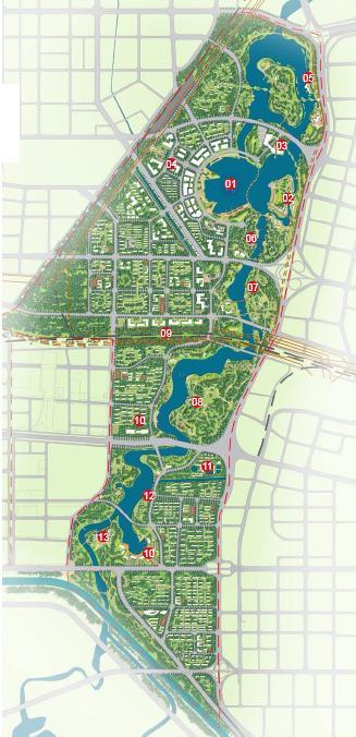 郑州西流湖片区景观规划2010——泛亚国际