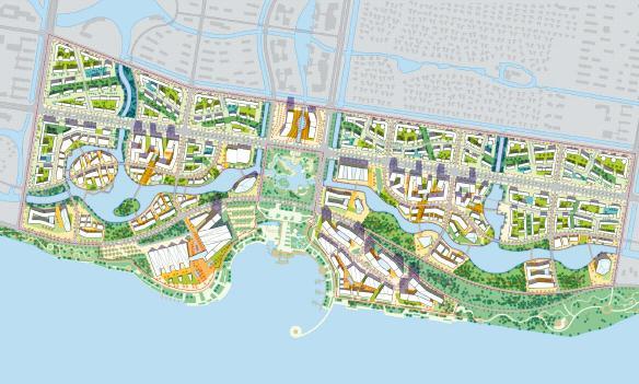 常州西太湖生态休闲区核心片区深度城市设计2010