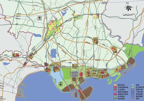 """唐山湾""""四点一带""""区域发展规划——atkins"""