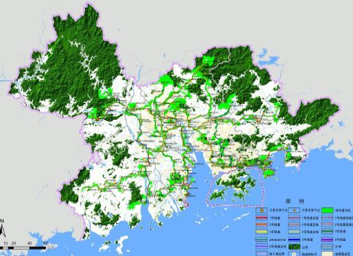 珠江三角洲绿道网总体规划纲要