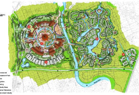 海陵岛未来规划图