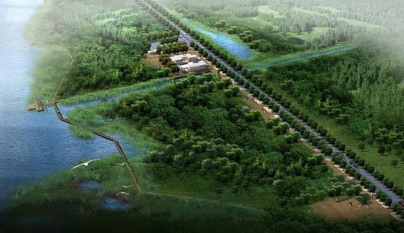骆马湖滨带状湿地公园景观设计——土人