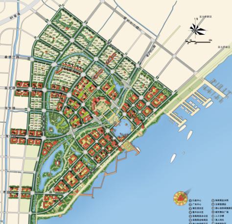 塘堤公园平面图