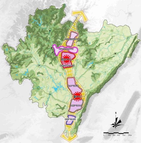 重庆大足城乡空间发展战略2012