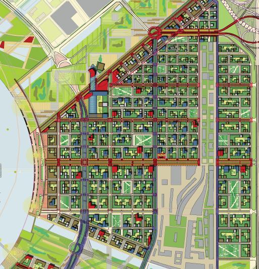 前海地区概念规划国际咨询创意滨海城市设计