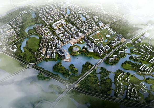 佛山南海狮山镇中心城区城市设计和控制性详细规划——aecom