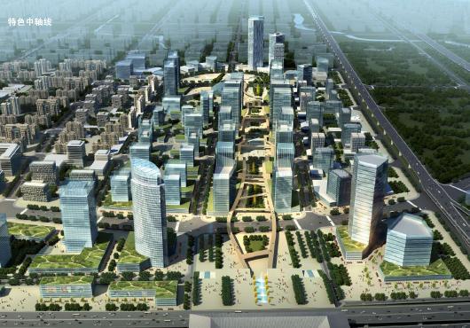 合肥高鐵站片區單元規劃及城市設計——hd