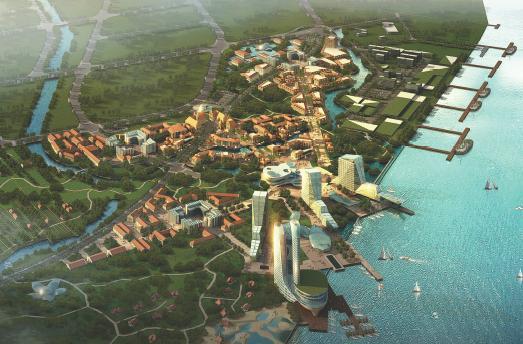 上海长兴岛横沙鱼港概念规划设计——ecs