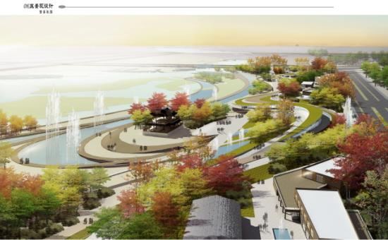 汉中市天化文化公园滨水区景观设计——毕路德图片