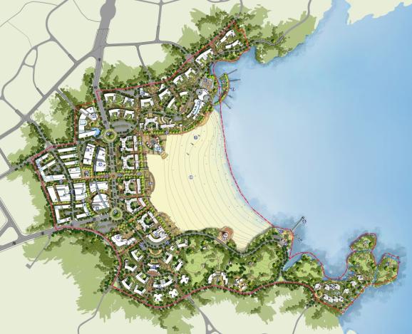 玉环县坎门后沙地区控制性详细规划及城市设计