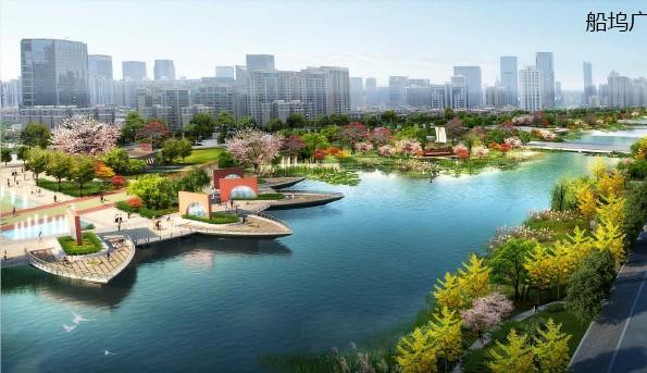 東鹽河景觀規劃及核心段建筑概念設計2012——廣州城規院