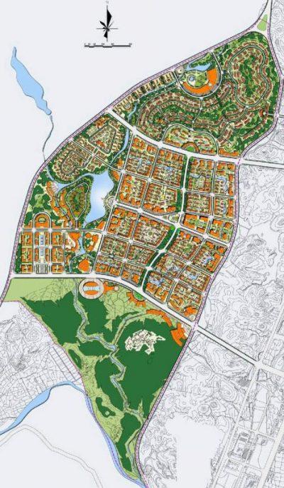 福建省南平市武夷创意园概念规划设计——同济