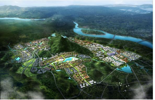 广东省清远教育城总体规划设计2012——广州城规院