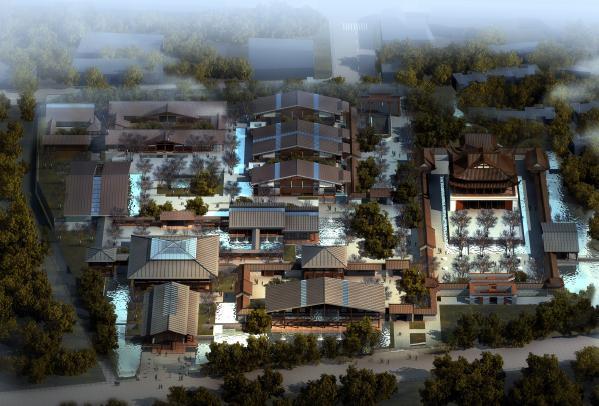 成都青城书院建筑设计概念方案——dc国际