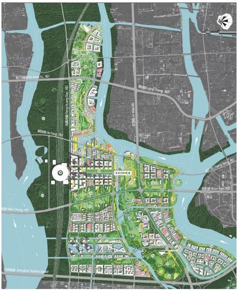 城市设计总平面