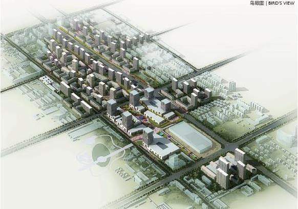 廊坊市周各庄城中村概念性设计方案