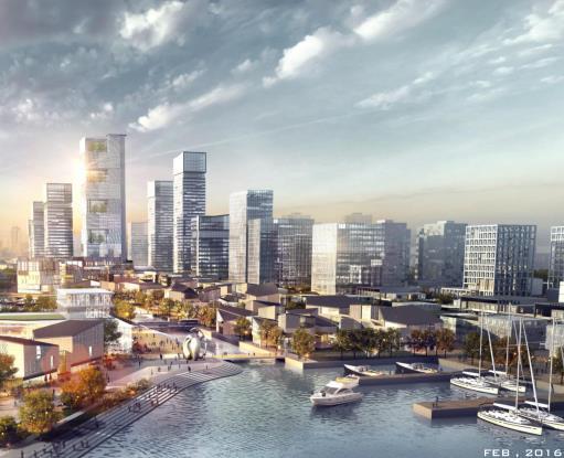 来安汊河新城规划_优80设计空间